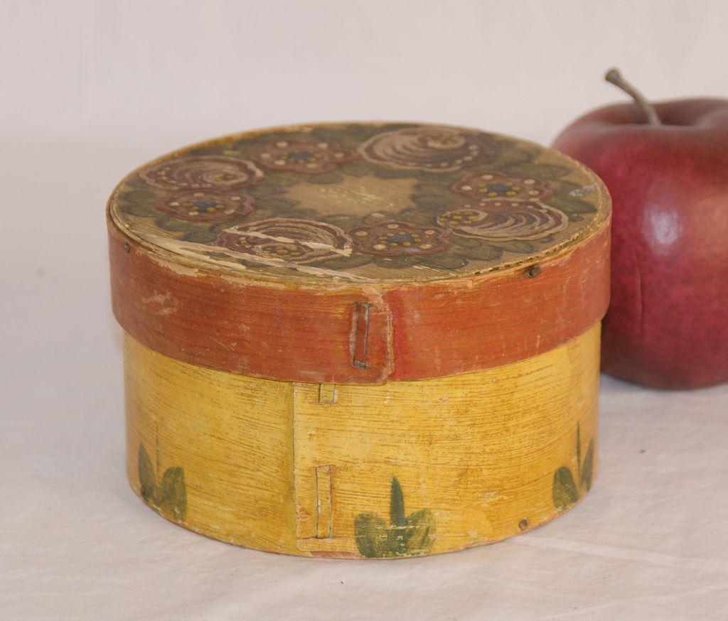 Petite Paint Decorated Pantry Box