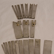 SOLD Set of Irons for the Stanley #45 in Original Box