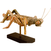 Folk Art Grasshopper