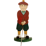 Painted Golfer Trade Sign