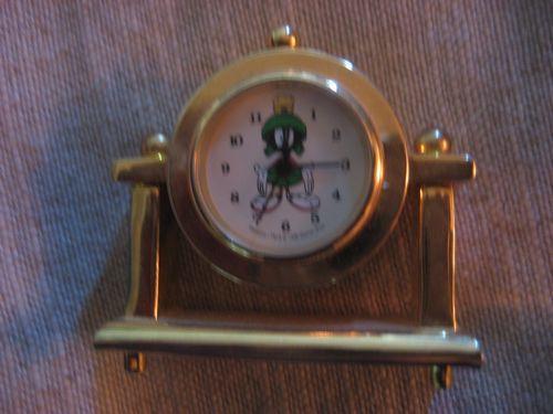 Marvin The Martian Mini Anniversary Clock