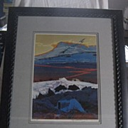 SALE Baje Whitethorne Two Bears Signed Framed Artist's Proof