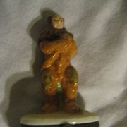 Wizard Of Oz Cowardly Lion Porcelain Hinge Box