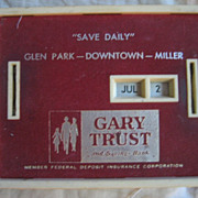 Bank All Coin Calendar Gary Trust
