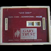 Bank All Coin Calendar Gary Trust