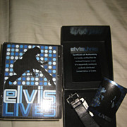 Elvis LE Fossil Watch In Box