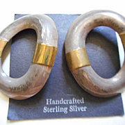 Sterling Silver & Vintage Earrings