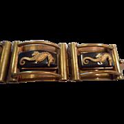 Seahorse Bakelite French Vintage Bracelet