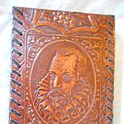 Leather Embossed Vintage Notebook Pad