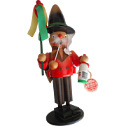 Steinbach 'Be Twice Happy' Wooden Incense Smoker