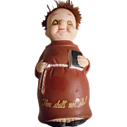 Monk Vintage Thou Shall Not Steal Ceramic Bank