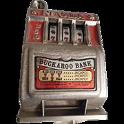Nevada Buckaroo Slot Machine Vintage Bank