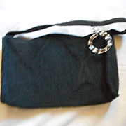 Corded Vintage Clutch Handbag