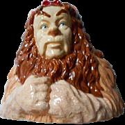 Wizard of Oz Ceramic Lion Bank