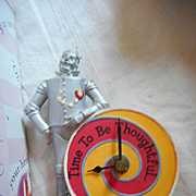 Wizard of Oz Tin Man Clock