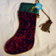 Christopher Radko Christmas Stocking