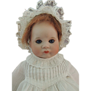 SOLD SFBJ 252 Toddler Character 12 IN, Antique French Bisque Doll, Pouty Closed Mouth