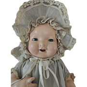 Madam Hendren Composition Doll, Antique Costume, 19 IN