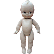 Kewpie, 13 IN, Composition Cameo Doll, Jointed