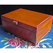 SALE Vintage Three Tune Music Box