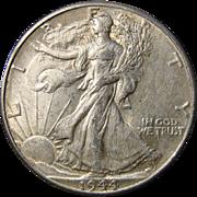 World War II Silver Half Dollars