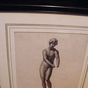 Greek Classic 19th century Engraving