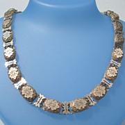 SOLD Vintage Victorian Engraved Gold Filled Choker Necklace GF