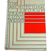 1938 Architectural Forum Frank Lloyd Wright Issue