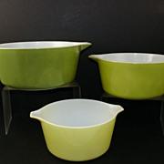 Pyrex 475-B, 474-B, 473 Ovenware