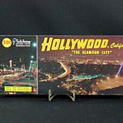 Vintage 1950's Hollywood Souvenir Post Card Book
