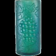 Sascha Brastoff Lucite Grapes Pattern Candle Holder