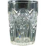 Indiana Glass EAPG Pendant Water Glass Tumbler