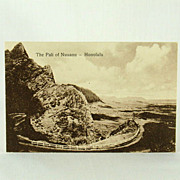 Hawaii and South Seas Curio Company The Pali Of Nuuanu-Honolulu