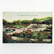 Success Postal Card Co. No. 1016 The Terraces, Central Park, New York