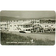 Hotel Montemar Ensenada BC Mexico Real Photo Circa 1956