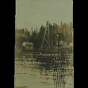 Historic Prince Rupert British Columbia First Pile Driven RPPC