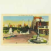 Metropolitan Linen of Columbus Circle, New York Circa 1953