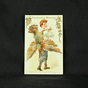 Nyce Post Card Co. Thanksgiving Saleman's Sample