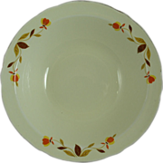 """Hall Jewel Tea Company Autumn Leaf 9"""" Round Vegetable Bowl"""