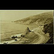 RPPC Real Photos of Coast Highway and Ridge Route California