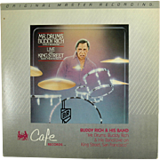Buddy Rich Live on King Street Cafe 3-732 Original Master Recording Vinyl LP Set