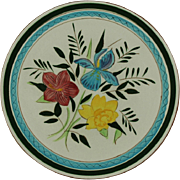 """SALE Stangl Pottery Country Garden 10"""" Dinner Plate"""