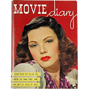 Movie Diary by William H. Kofoed Circa 1943