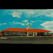 Howard Johnson's Bi-Fold Tichnor Brother's Post Card