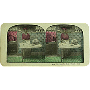 Stereograph StereoView Card of Black Americana