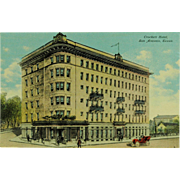 San Antonio Texas Crockett Hotel Post Card