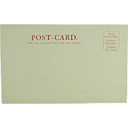 Columbia River Salmon Fish Wheel on Undivided Back Post Card