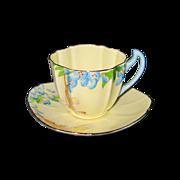 Royal Paragon - Blue Floral Teacup Set