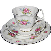 SALE Royal Albert - Tranquillity - Teacup Trio