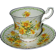 Queen's China - Daffodil - Teacup Set